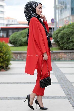 Seda Tiryaki - Kırmızı Şura İkili Takım - ST12240