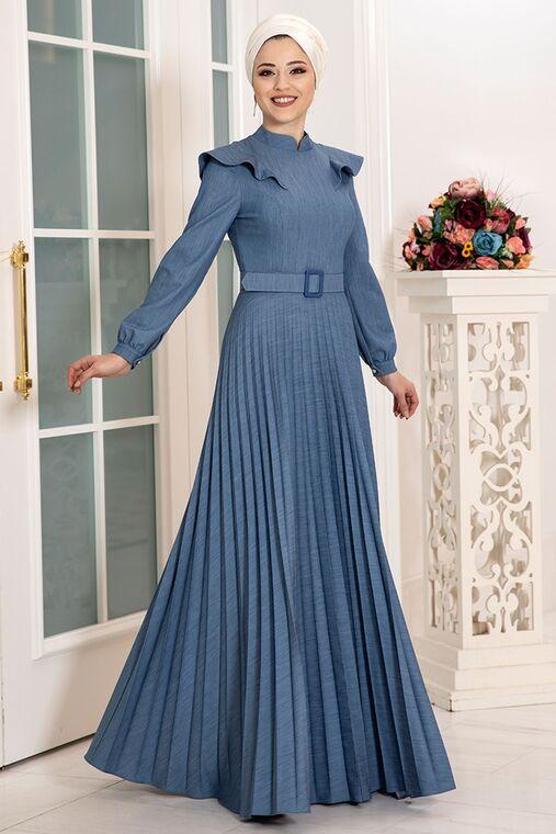 Dress Life - Kot Serra Elbise - DL16178