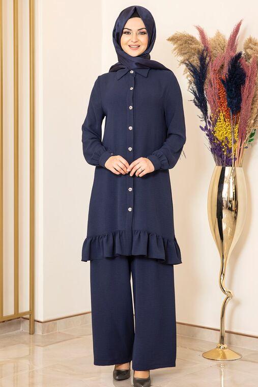 Fashion Showcase - Lacivert Aerobin Bahar Takım - FS15878