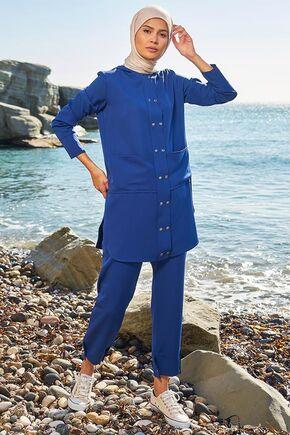Lacivert Mila Takım - SRK15644 - Thumbnail