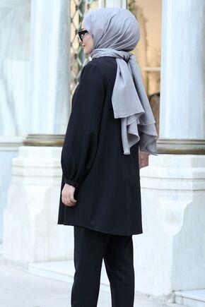Lacivert Yasmin Takım - ST15441 - Thumbnail