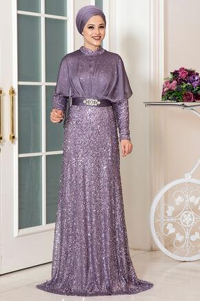 Dress Life - Lila Deren Abiye - DL16315