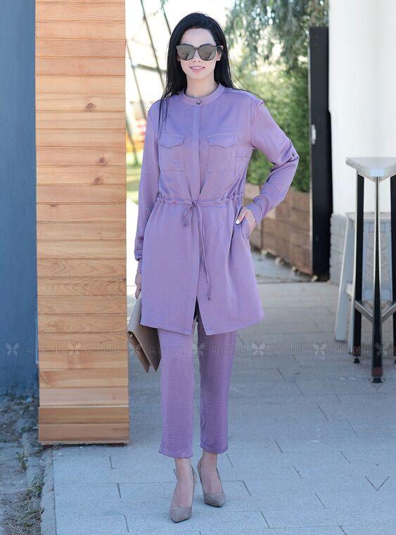 Moda Rafta - Lila Eda Takım - MOR15362
