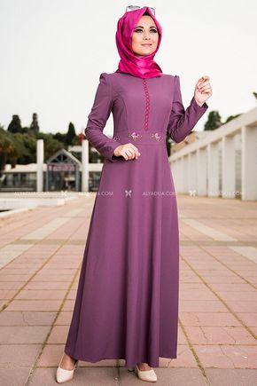 Alyadua - Lila Elbise - NC11838