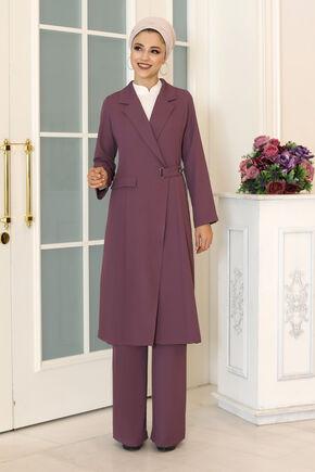 Dress Life - Lila Klass İkili Takım - DL16490