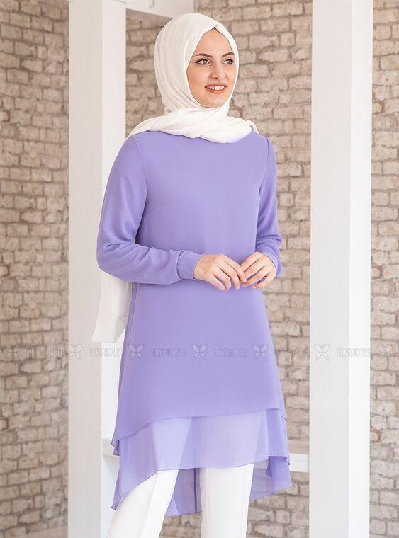 Lila Şifon Tunik - FS15206