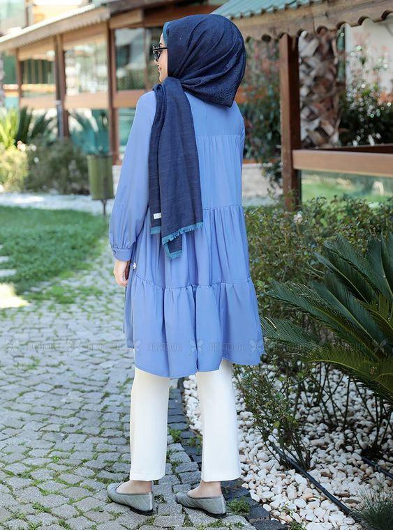 Mavi İnci Tunik - ST14905