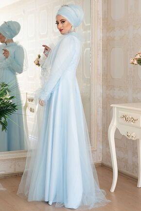 Mavi Leila Abiye - LZ16453 - Thumbnail
