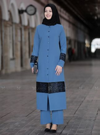 Sefanisa - Mavi Narin İkili Takım - SFN14813