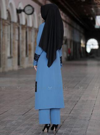 Mavi Narin İkili Takım - SFN14813 - Thumbnail