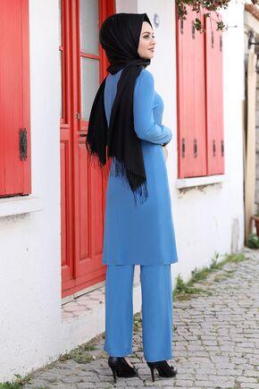 Mavi Seren İkili Takım - AHU15937 - Thumbnail