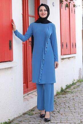 Ahunisa - Mavi Seren İkili Takım - AHU15937