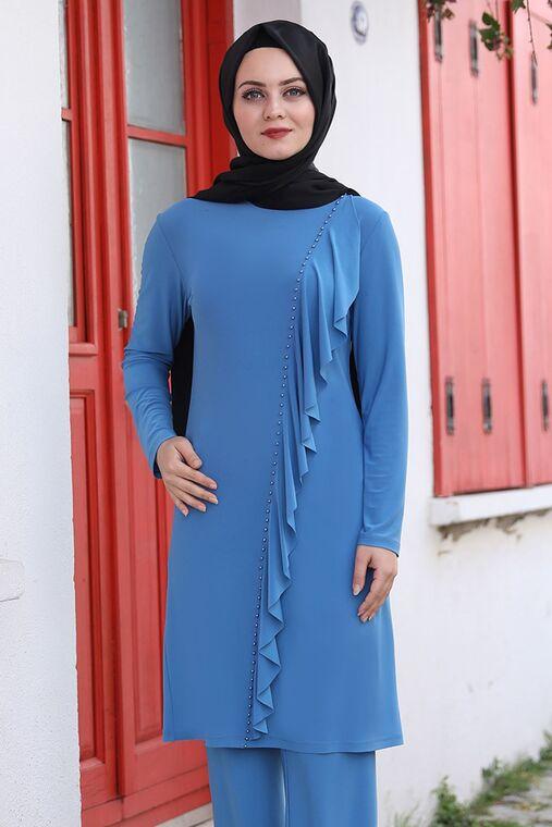 Mavi Seren İkili Takım - AHU15937