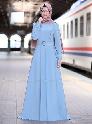 Rabeysa - Mint Hilal Elbise - RS14319