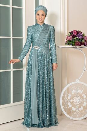 Dress Life - Mint Miray Abiye - DL16322