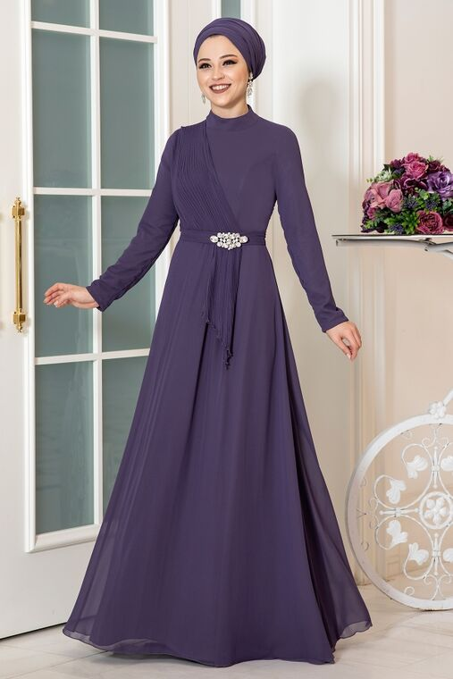 Dress Life - Mor Ecmel Abiye - DL16261