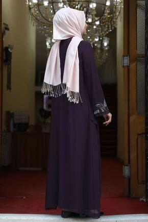 Mor Fulya Abiye - AMH16111 - Thumbnail