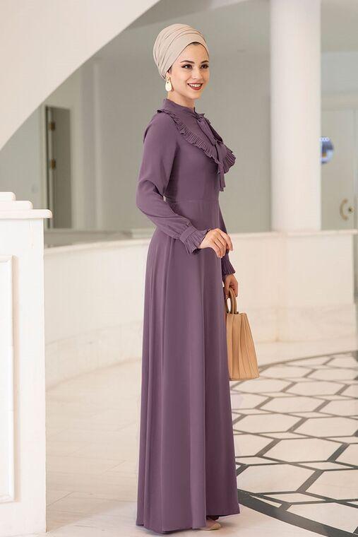 Dress Life - Mor Irmak Elbise - DL16172