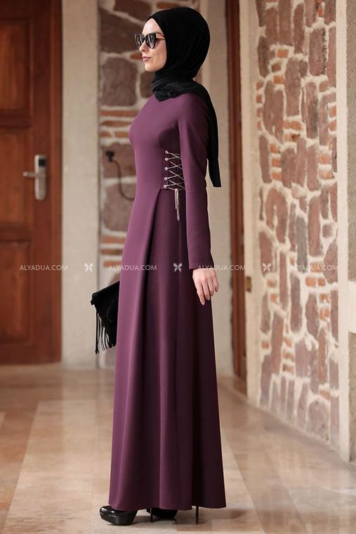 Mürdüm Beste Elbise - RZ12862