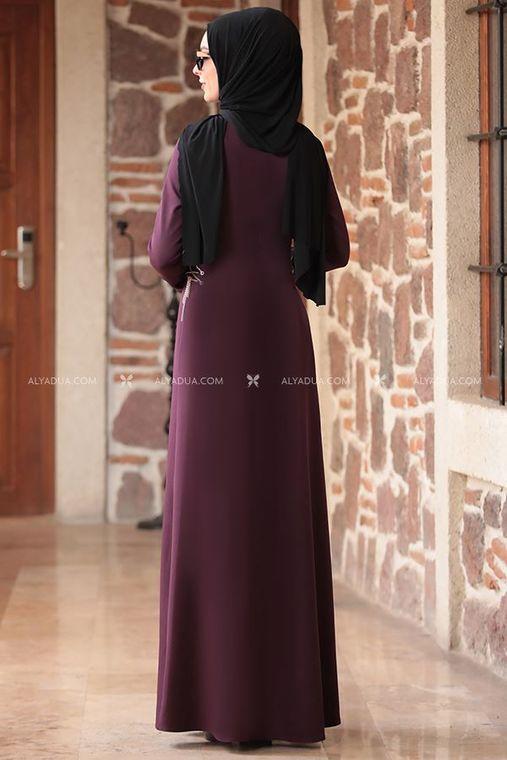 - Mürdüm Beste Elbise - RZ12862 (1)