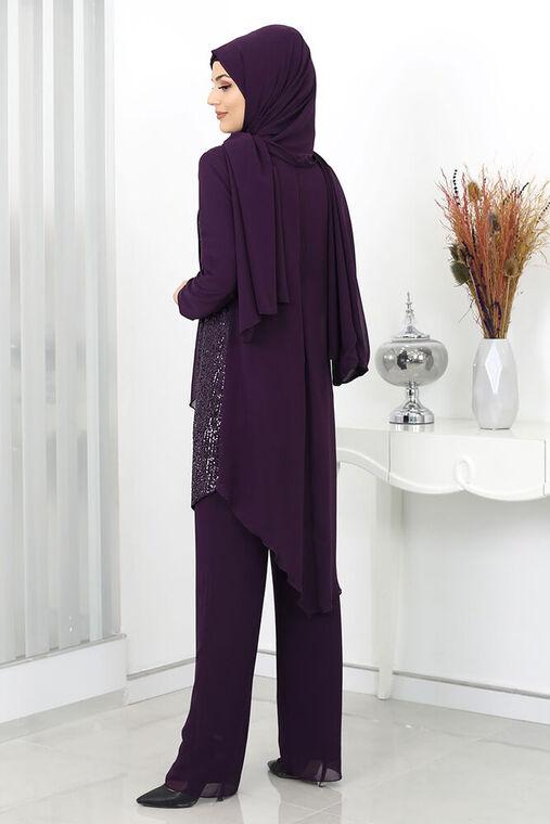 Mürdüm Zehra Abiye Takım - SUR15990