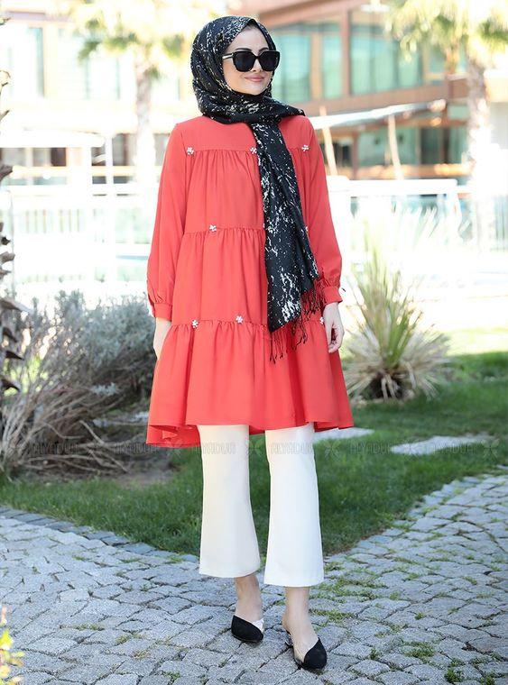 Seda Tiryaki - Narçiçeği İnci Tunik - ST14908