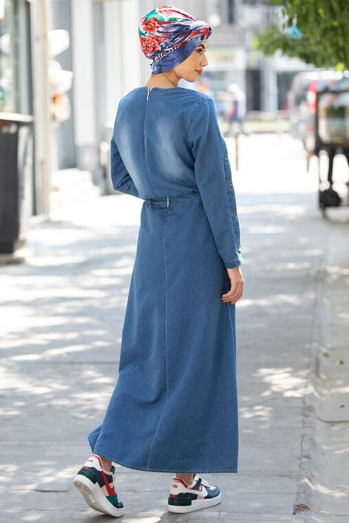 Nisa Kot Elbise - RZ15552