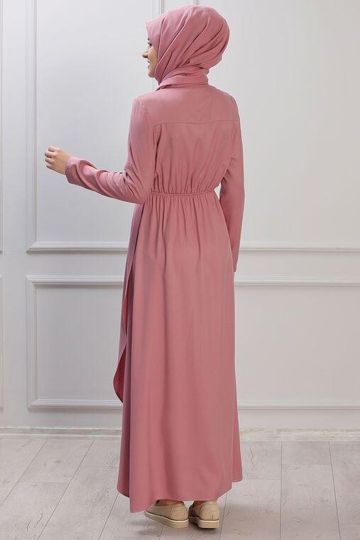 Pudra Ayça Elbise - RZ153386