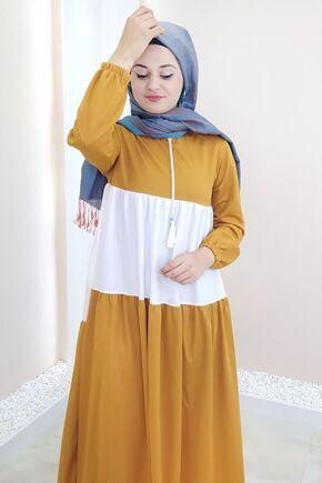 Hardal Farah Elbise - SES15384 - Thumbnail
