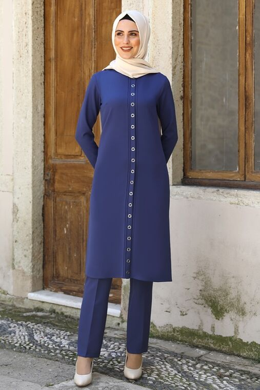 Nidya Moda - Saks İkra İkili Takım - NM16055