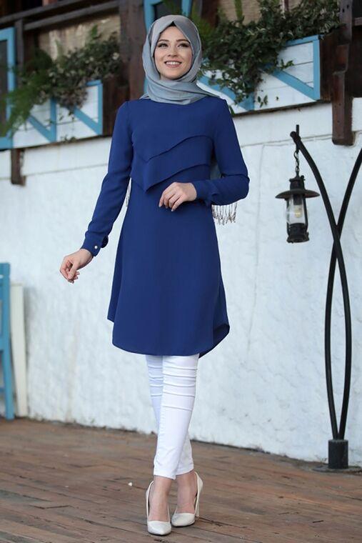 Dress Life - Saks İkra Tunik - DL16170