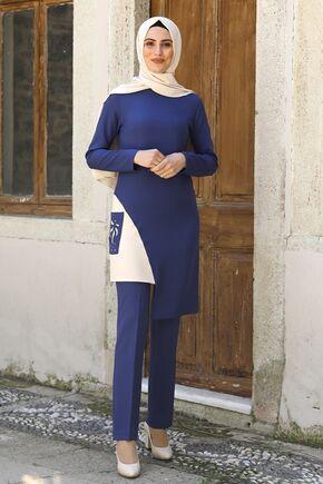 Nidya Moda - Saks Şehrazat İkili Takım - NM16049