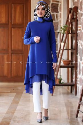 MDV Collection - Saks Şifon Tunik - AD13167