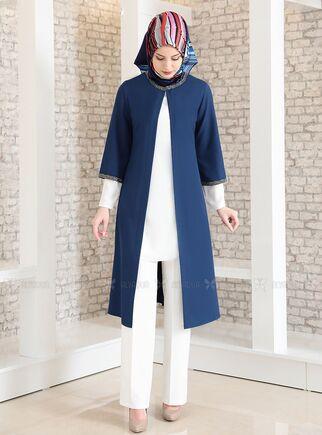 Fashion Showcase - Saks Taş Detay Üçlü Takım - FS15025