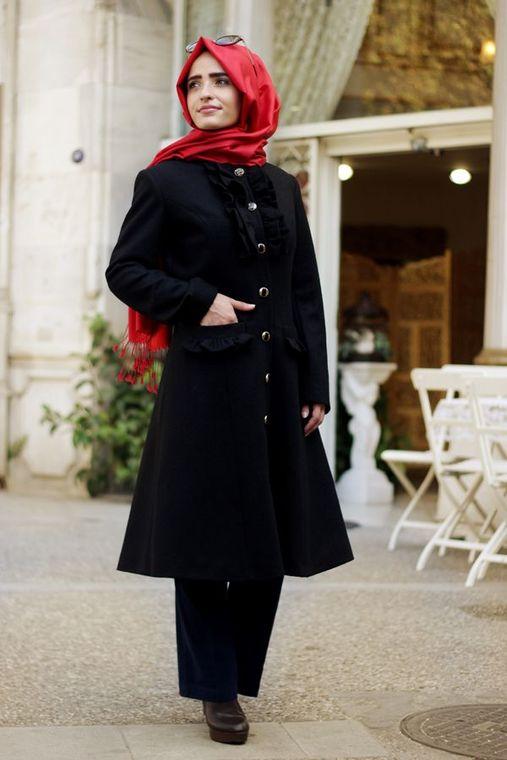Sema Şimşek - Siyah Alya Kaban