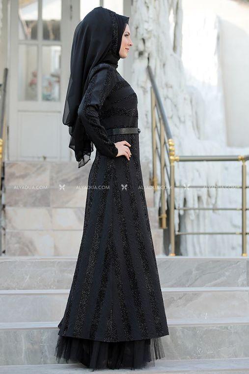 Siyah Abiye - SŞ11142