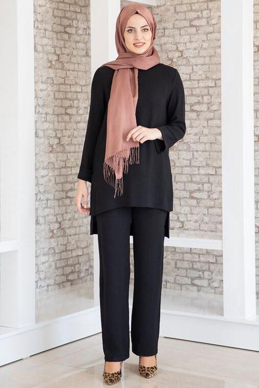 Fashion Showcase - Siyah Ada Takım - FS16345