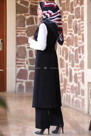 Siyah Asya Kap Takım - AD13576 - Thumbnail