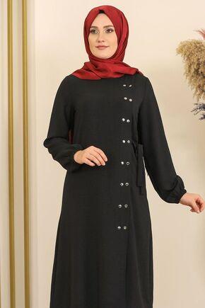 Siyah Çıtçıt Detay İkili Takım - FS16392 - Thumbnail
