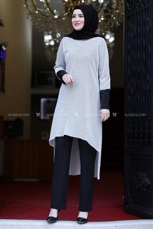 Rana Zenn - Siyah Dantelli üçlü Takım - RZ13636