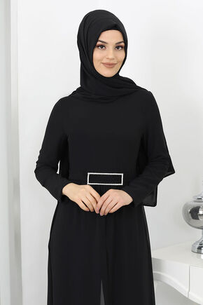 Siyah Derin Tulum - SUR15995 - Thumbnail