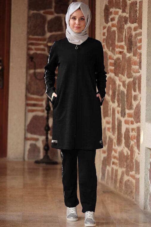 Emsale - Siyah Deste Takım - ES15614