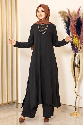 Fashion Showcase - Siyah Ece İkili Takım - FS15984