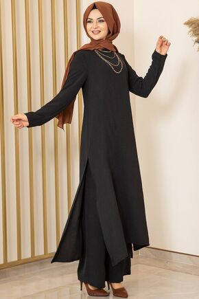 Siyah Ece İkili Takım - FS15984 - Thumbnail