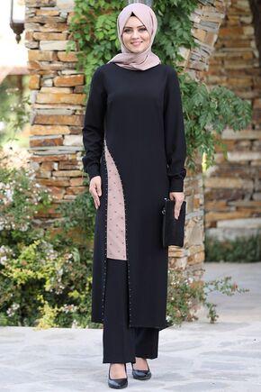 Siyah Efser Takım - AHU15467 - Thumbnail