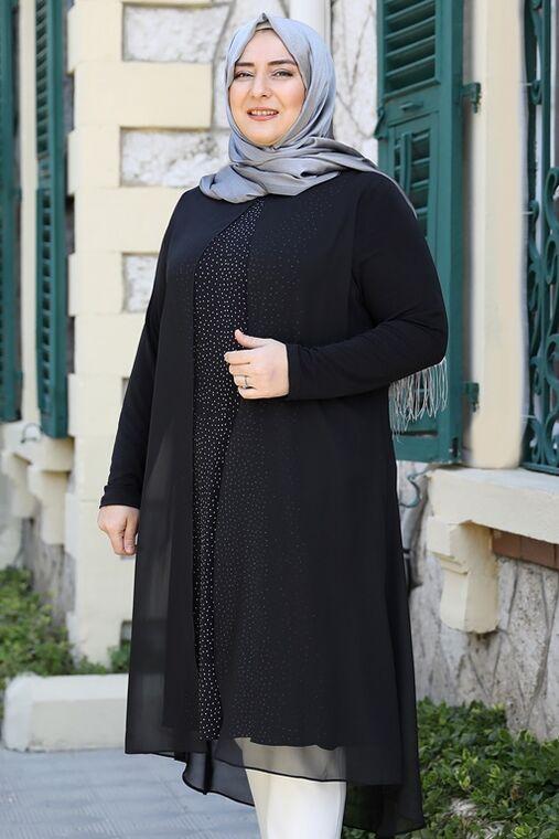 Siyah Efsun Tunik - ES15919