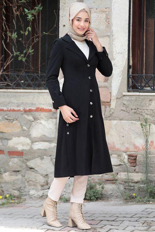 Rana Zenn - Siyah Ekin Kaban - RZ15565