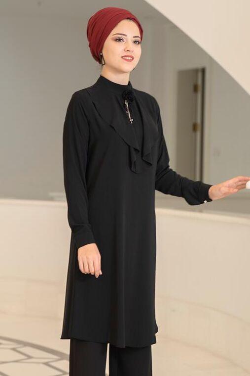 Siyah Ekin Tunik - DL15684