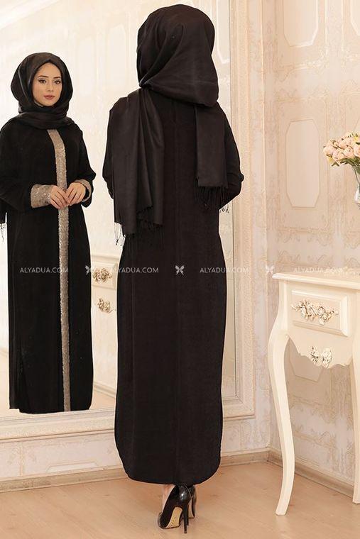 - Siyah Elisa Uzun Tunik - LF13093 (1)