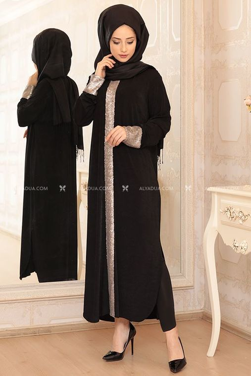 Lefzen - Siyah Elisa Uzun Tunik - LF13093